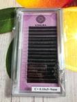 ENIGMA Черные ресницы (микс) 16 линий 0,10C+