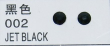 Стразы CRYSTAL GL ss10 Jet Black, 100 шт
