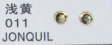 Стразы CRYSTAL GL ss10 Jonquil, 100 шт