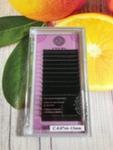 ENIGMA Черные ресницы (микс) 16 линий 0,07C