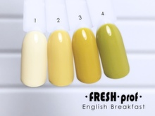 Гель-лак Fresh Prof English Breakfast 02, 10мл
