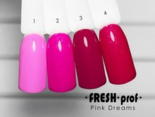 Гель-лак Fresh Prof Pink P1, 10ml