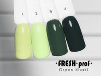 Гель-лак Fresh Prof Green Khaki G1, 10мл