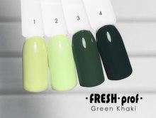 Гель-лак Fresh Prof Green Khaki G1, 10мл