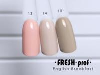 Гель-лак Fresh Prof English Breakfast 13, 10мл