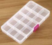 Контейнер пластиковый для дизайнов 15 секций