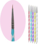 Кисть для дизайна Marco Nail Art Drawing Brush