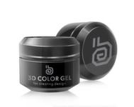 RuNail 3D gel, 5гр 2302 черный
