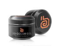 RuNail 3D gel, 5гр 2304 оранжевый