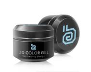 RuNail 3D gel, 5гр 2307 голубой