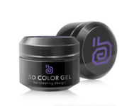 RuNail 3D gel, 5гр 2309 фиолетовый