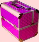 Кейс для мастера металлический фиолетовый