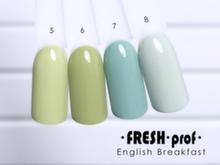 Гель-лак Fresh Prof English Breakfast 07, 10мл
