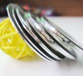 Фольга-лента. Цвет: серебро