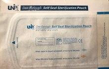 Пакеты для стерилизации Unipack Self Seal 90х170 (влагопрочные), 200 штук
