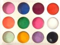 Акриловая пудра набор 12 цветов