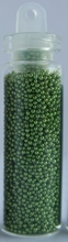 Бульонки в бутылке, 3 гр. Цвет: зеленый.