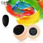 Гель-краска CANNI №613, 5 мл. Цвет черный