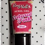 Acril Gel EmiNell Natural Pink, 30гр в тубе