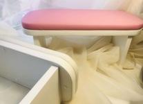 Подставка-стойка для рук маникюрная, цвет розовый