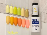 Гель-лак Fresh Prof Yellow Y01, 10ml