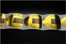 Формы бумажные золото широкие, 10 штук