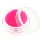 Glass balls - стеклянные шарики (икра) флуоресцентные в банке. Цвет розовый.