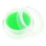 Glass balls - стеклянные шарики (икра) флуоресцентные в банке. Цвет салатовый.
