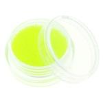 Glass balls - стеклянные шарики (икра) флуоресцентные в банке. Цвет лимонный.