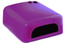 УФ Лампа 36W с таймером. Цвет фиолетовый
