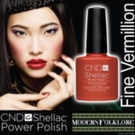 CND Shellac Fine Vermilion, 7,3 мл