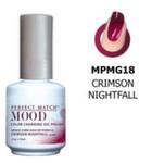 LeChat Perfect Match Mood - #MG18 Crimson Nightfall, 15ml
