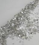Стразы стекло ss3 (1.3-1.5mm) Crystal прозрачные, 100шт