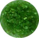 Украшение для дизайна - ракушка колотая перламутровая в банке, 10гр. Цвет зеленый