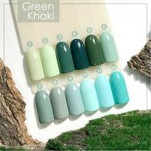 Гель-лак Fresh Prof Green Khaki №1, 10мл