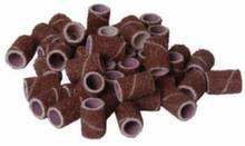 Абразивные колпачки Milken Burgundy Coarse - 80 грит, 10шт