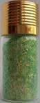 Украшение для дизайна - дождик (стружка) в бутылке, 15гр.  Цвет: светло-зеленый