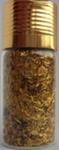 Украшение для дизайна - дождик (стружка) в бутылке, 15гр.  Цвет: золото