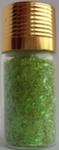 Украшение для дизайна - дождик (стружка) в бутылке, 15гр.  Цвет: желто-зеленый