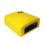 УФ Лампа 36W с таймером №818. Цвет желтый